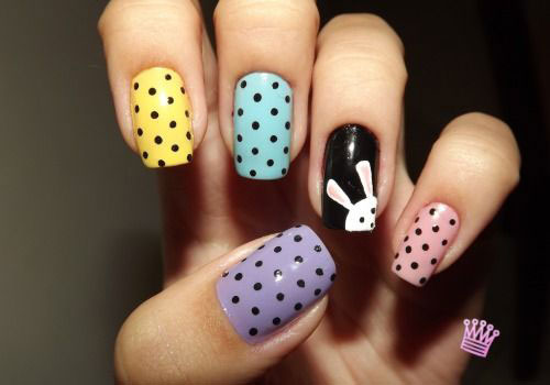 20 Simple Easy Cool Easter Nail Art Designs Ideas Trends Stickers 2015 10 20 Simple, Easy & Cool Easter Nail Art Designs, Ideas, Trends & Stickers 2015