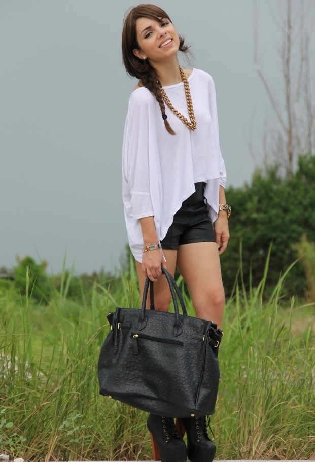 cute outfits to wear with platform boots (12)