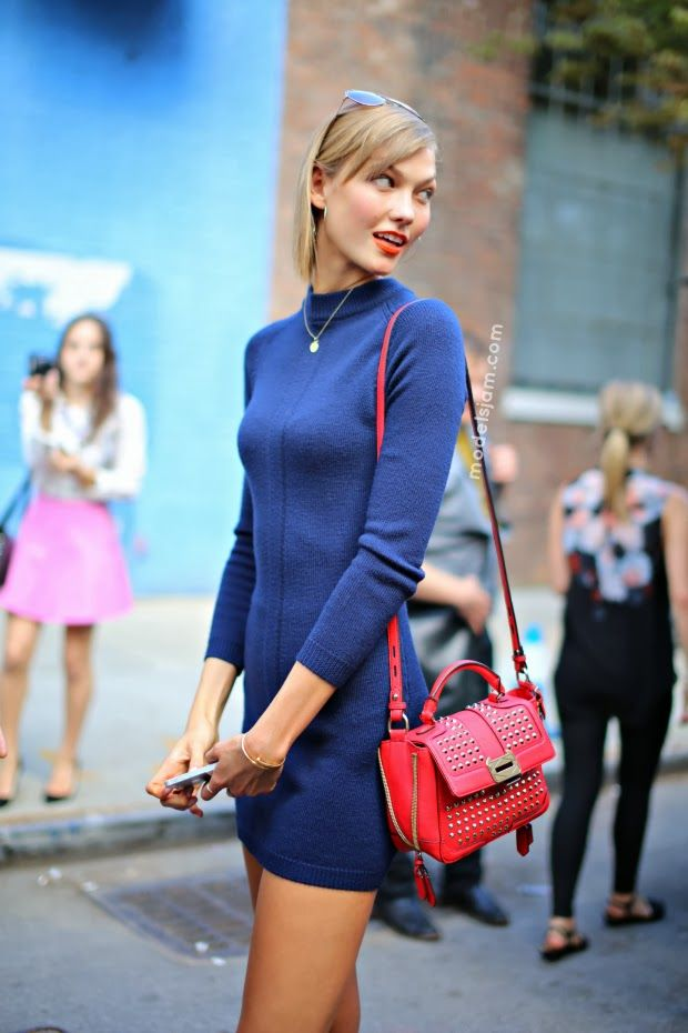 mad for mod The Best Street Style Outfits from Karlie Kloss