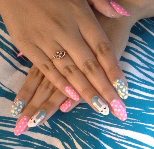 20 Simple Easy Cool Easter Nail Art Designs Ideas Trends Stickers 2015 3 20 Simple, Easy & Cool Easter Nail Art Designs, Ideas, Trends & Stickers 2015