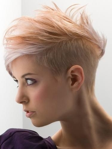 Short Undercut for Thin Hair