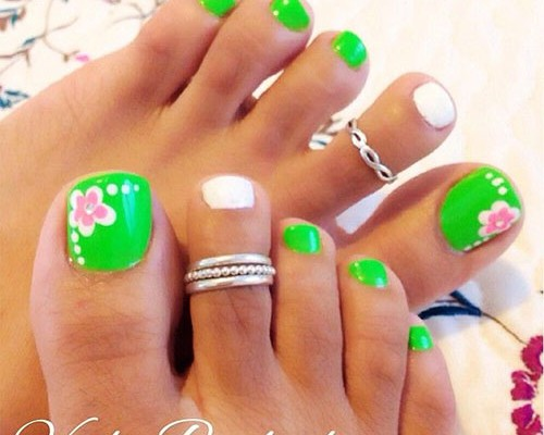 10 Spring Toe Nail Art Styles Tips Trends Stickers 2015 Nail