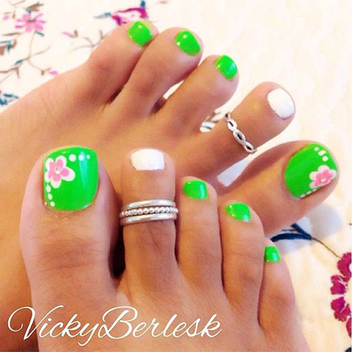 10 Spring Toe Nail Art Designs Ideas Trends Stickers 2015 1 10+ Spring Toe Nail Art Designs, Ideas, Trends & Stickers 2015