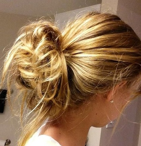 2014 Updo Hairstyles Easy messy updos for everyday