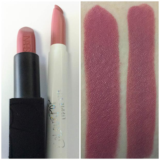 NARS Audacious Anna Dupe Swatch