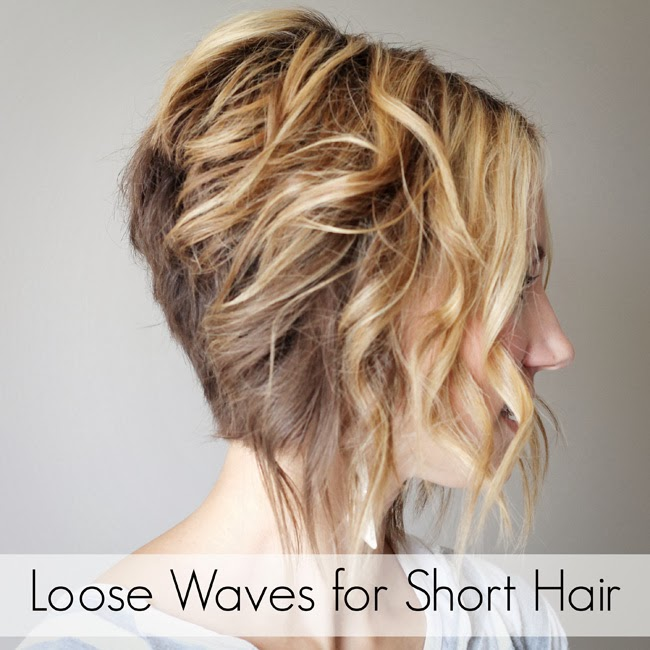 Loose Curls Short Hairstyle