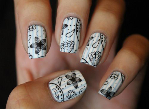 15 Easy Spring Nail Art Designs Ideas Trends Stickers 2015 10 15 Easy Spring Nail Art Designs, Ideas, Trends & Stickers 2015