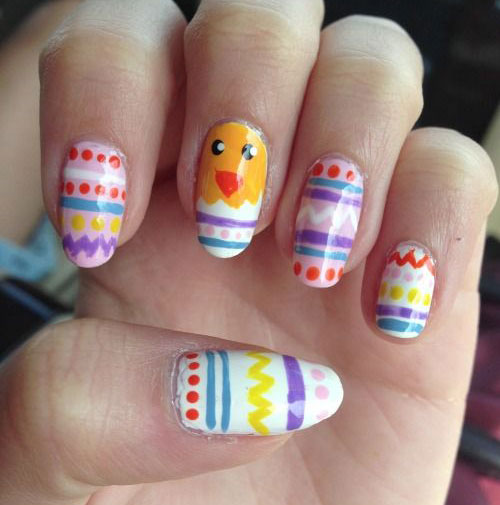 15 Easter Egg Nail Art Designs Ideas Trends Stickers 2015 6 15+ Easter Egg Nail Art Designs, Ideas, Trends & Stickers 2015
