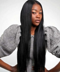 Black Straight Weave Hairstyles