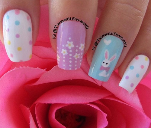 Cute Easter Gel Nail Art Designs Ideas Trends Stickers 2015 8 Cute Easter Gel Nail Art Designs, Ideas, Trends & Stickers 2015