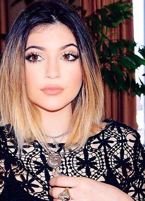 Kylie Jenner Ombre Hair