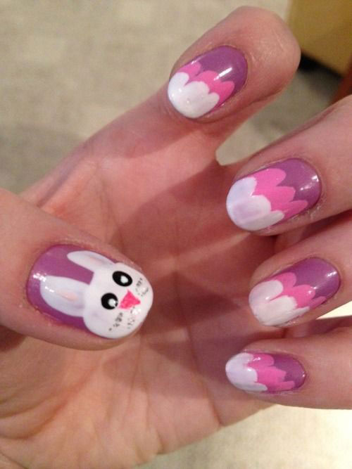 20 Simple Easy Cool Easter Nail Art Designs Ideas Trends Stickers 2015 12 20 Simple, Easy & Cool Easter Nail Art Designs, Ideas, Trends & Stickers 2015