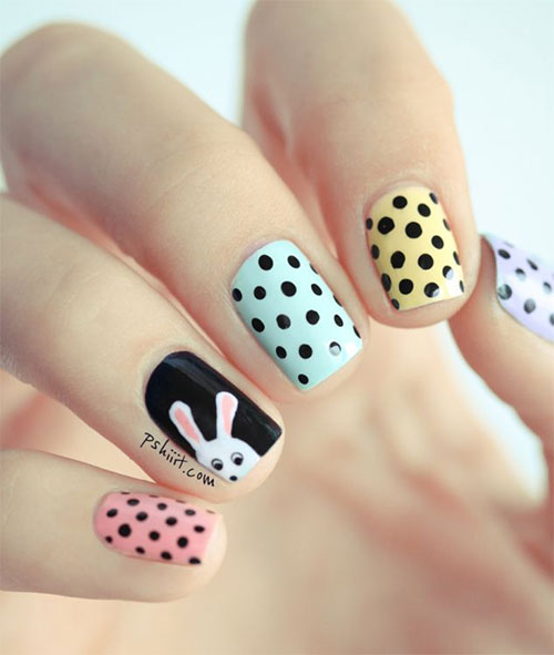 Inspiring Easter Acrylic Nail Art Designs Ideas Trends Stickers 2015 7 Inspiring Easter Acrylic Nail Art Designs, Ideas, Trends & Stickers 2015