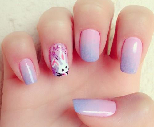 20 Easter Bunny Nail Art Designs Ideas Trends Stickers 2015 12 20 Easter Bunny Nail Art Designs, Ideas, Trends & Stickers 2015