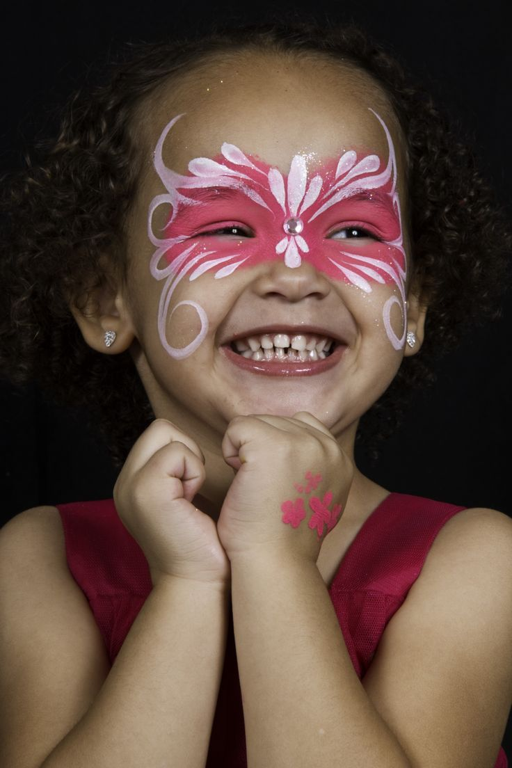 kids-girl-face-painting-design