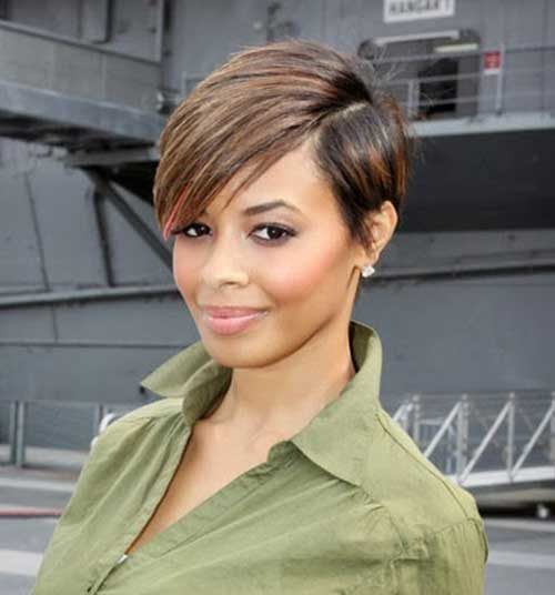 Vanessa Simmons Short Hair for Black Women