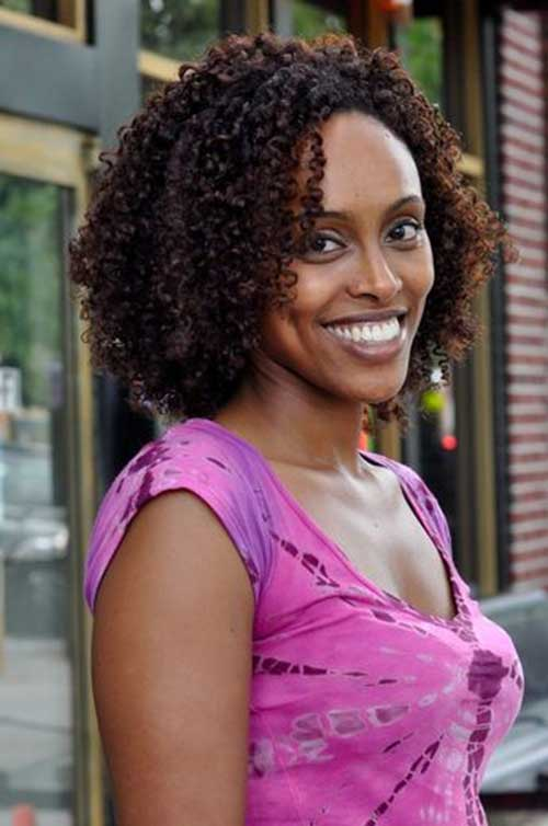 Wash and Go Natural Hair Styles for Black Women