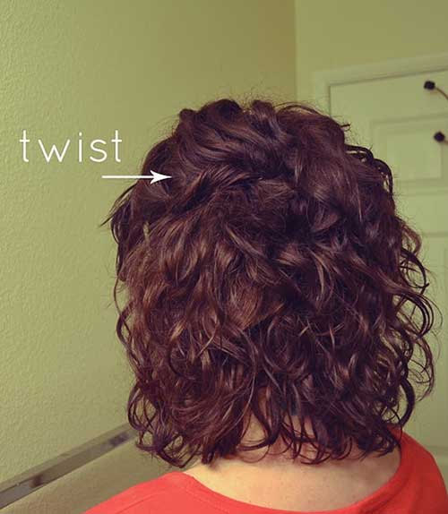 Hairstyles for Women Curly Short Hair