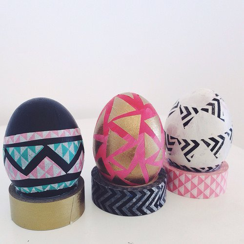 Cute Washi Tape Eggs