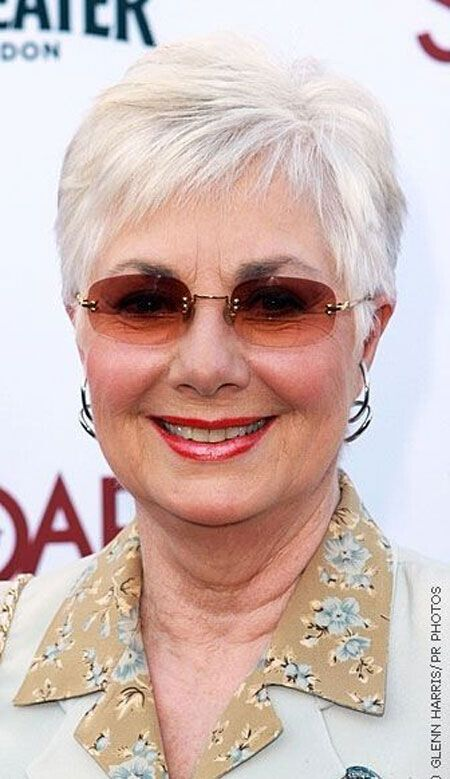 Easy Short Pixie Hairstyles for Older Women with Glasses