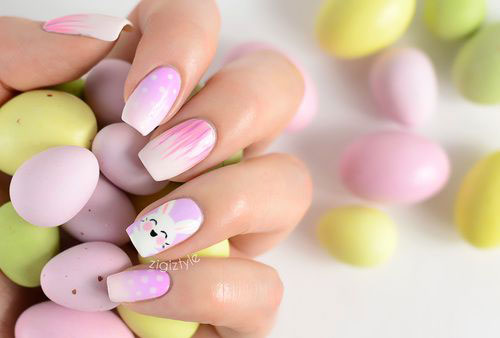 Inspiring Easter Acrylic Nail Art Designs Ideas Trends Stickers 2015 6 Inspiring Easter Acrylic Nail Art Designs, Ideas, Trends & Stickers 2015