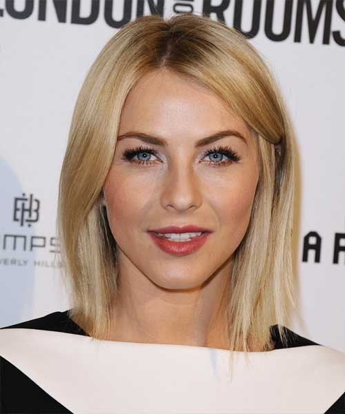 Julianne Hough Short Hairstyles for Fine Straight Hair