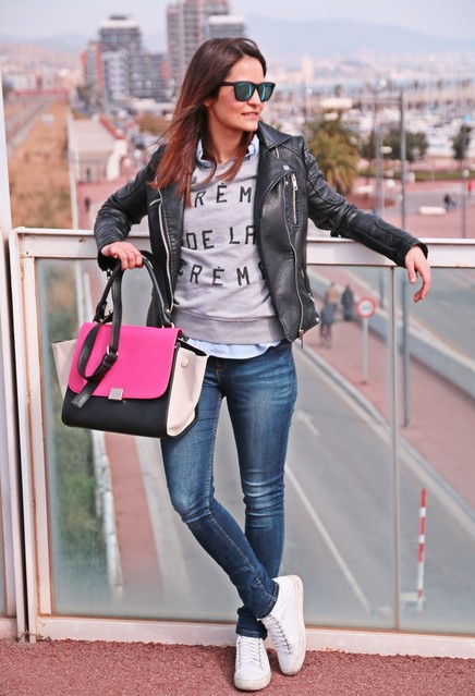 cute outfits to wear with sneakers (2)