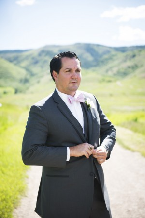 Groom in bow-tie