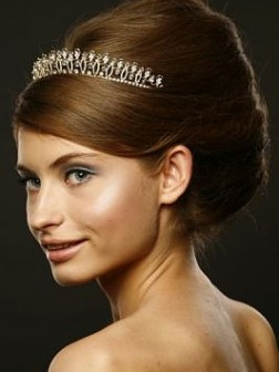 Updo hairstyle for weeding 2012 252x336