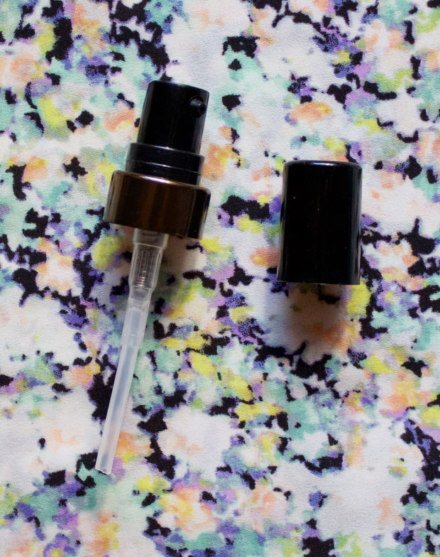 This pump comes with each bottle of Sappho Organics Liquid Foundation.