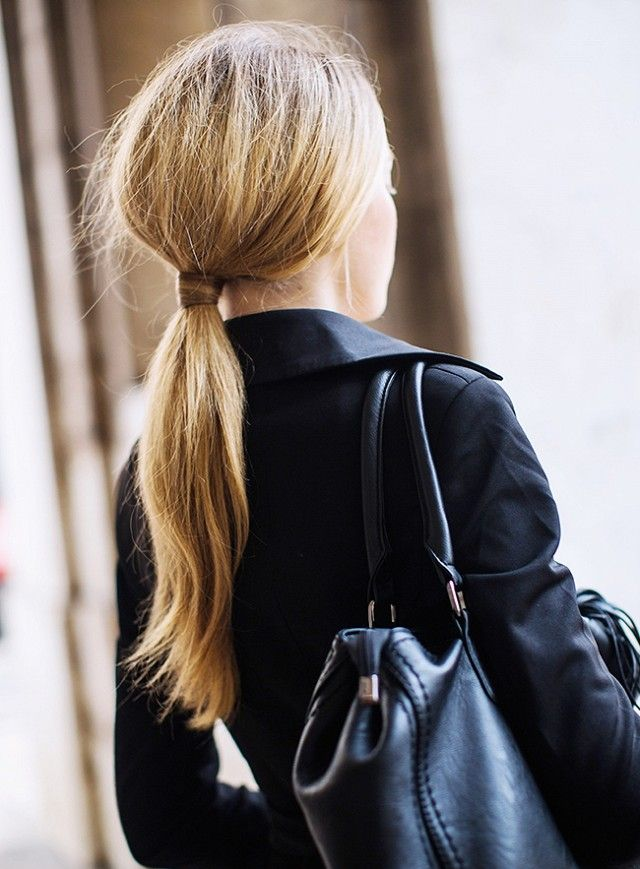 low ponytail hairstyle Fab Beauty Trends to Try for Spring and Summer