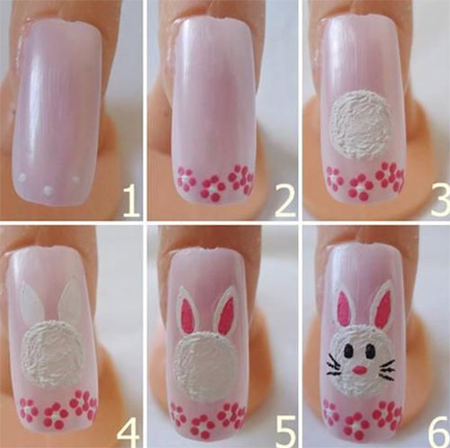 10 Step By Step Easter Nail Art Tutorials For Beginners Learners 2015 5 10 Step By Step Easter Nail Art Tutorials For Beginners & Learners 2015