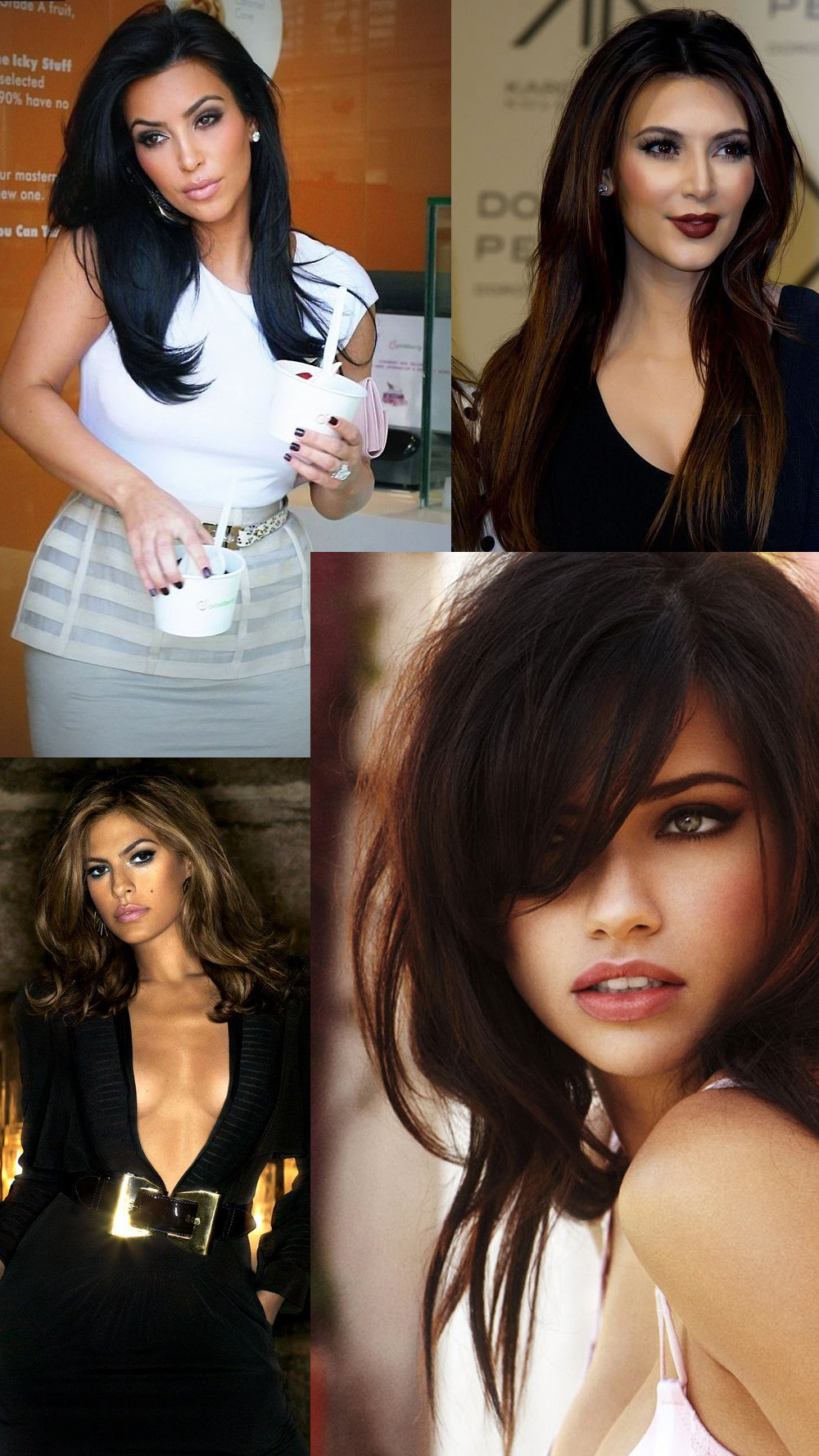 brunettes-haircolor-looks