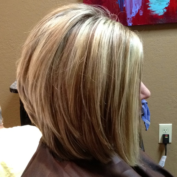 Stacked Bob Hairstyles with Layers
