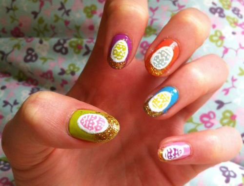 15 Easter Egg Nail Art Designs Ideas Trends Stickers 2015 3 15+ Easter Egg Nail Art Designs, Ideas, Trends & Stickers 2015