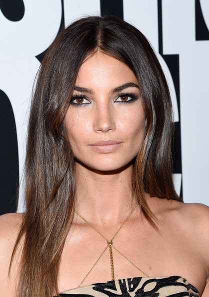 Lily Aldridge Nude Look