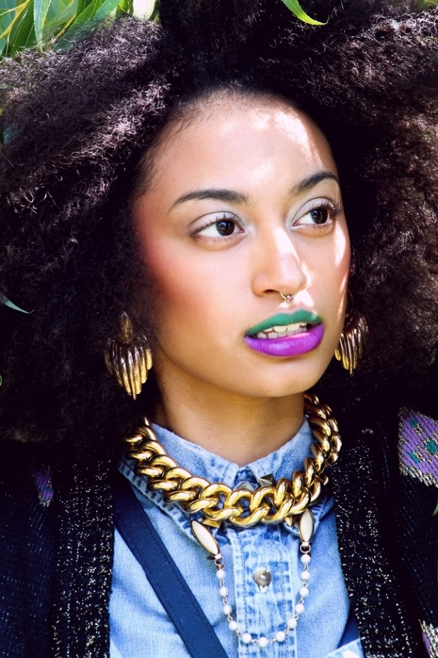 two toned bold lips Crazy Lip Trends You Can Wear to a Fun Night Out