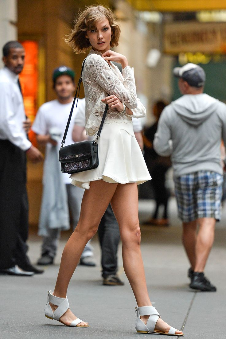 sweet and sexy The Best Street Style Outfits from Karlie Kloss