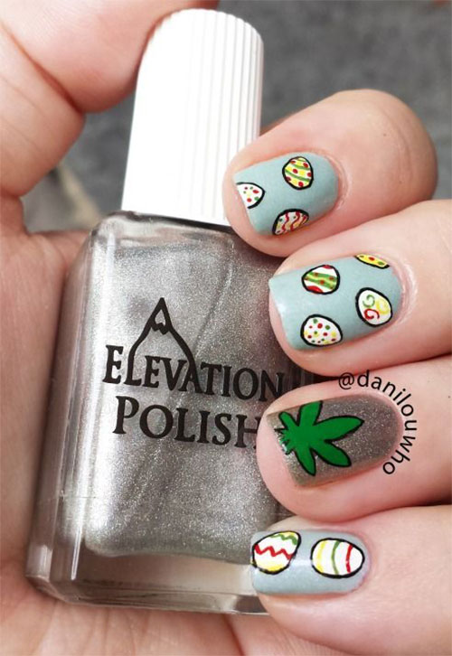 15 Easter Egg Nail Art Designs Ideas Trends Stickers 2015 13 15+ Easter Egg Nail Art Designs, Ideas, Trends & Stickers 2015