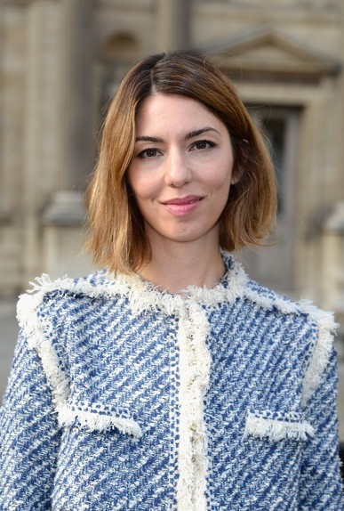 Sofia Coppola Short Haircut - Chin Length Bob Hairstyle for Spring 2014