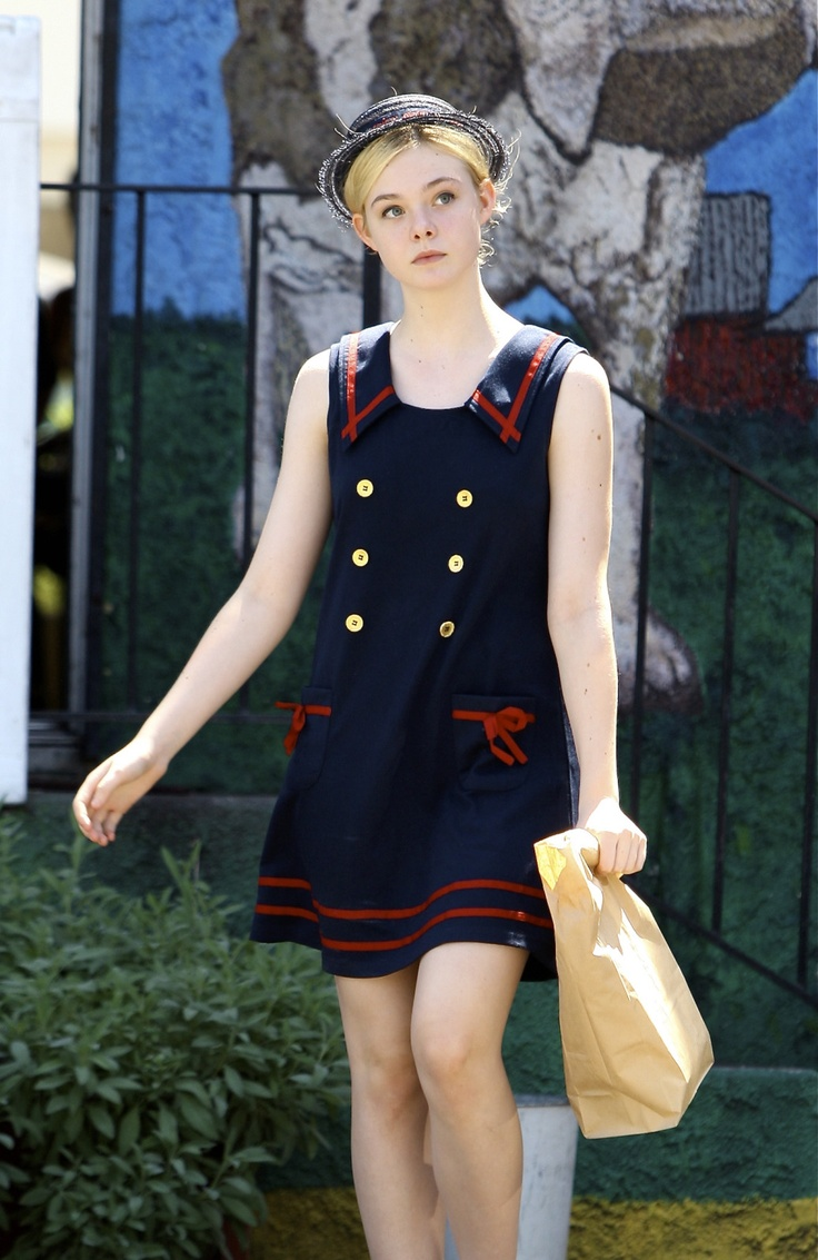 elle fanning outfit Teen Fashion Icons Everyone Is Watching
