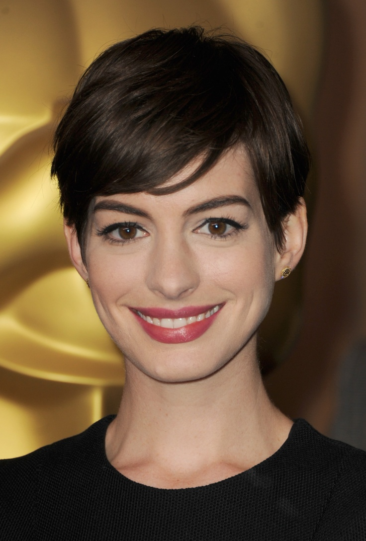 Pixie Cut For 2014 Short Sleek Pixie Cut With Side Swept