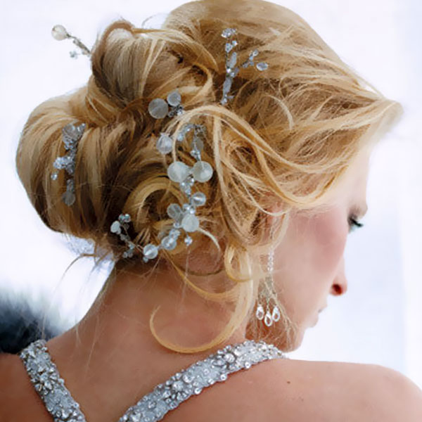 side updo hairstyle for bridal 3