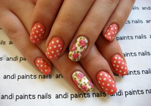 15 Easy Spring Nail Art Designs Ideas Trends Stickers 2015 2 15 Easy Spring Nail Art Designs, Ideas, Trends & Stickers 2015