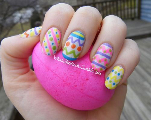 15 Easter Egg Nail Art Designs Ideas Trends Stickers 2015 11 15+ Easter Egg Nail Art Designs, Ideas, Trends & Stickers 2015
