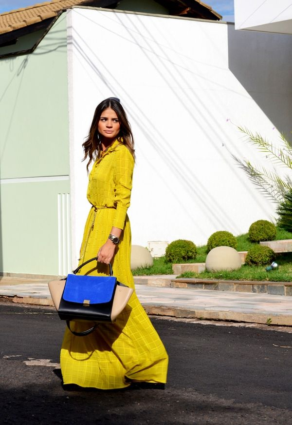light yellow outfit Gorgeous Colors You Need to Add to Your Closet Right Now