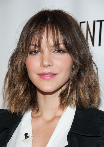 Katharine McPhee Short Haircut - Lovely Short Ombre Hair for 2014