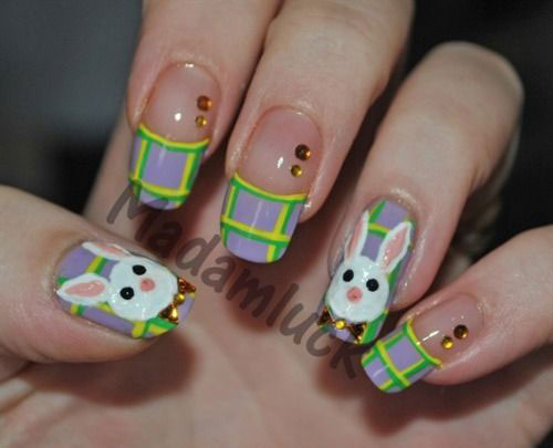 20 Easter Bunny Nail Art Designs Ideas Trends Stickers 2015 6 20 Easter Bunny Nail Art Designs, Ideas, Trends & Stickers 2015