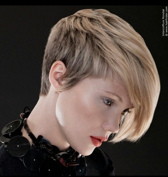 Short Asymmetric Haircut