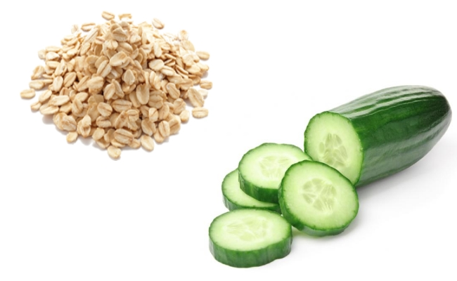 Cucumber And Oatmeal